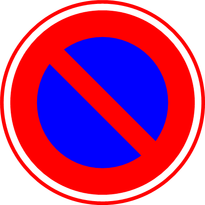 交通標識のイラスト ...