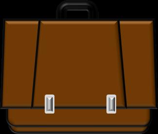 通勤かばんのイラスト イラストカットcom