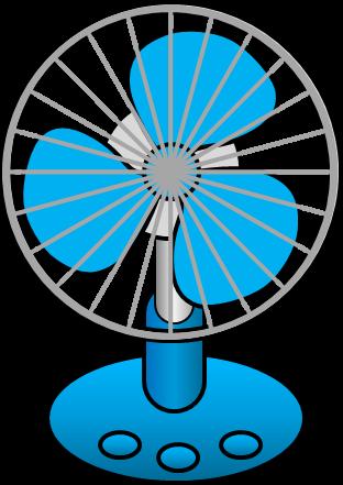 扇風機のイラスト イラストカットcom
