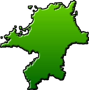 福岡県のイラスト フリー素材 ... : 愛知 日本地図 : 日本
