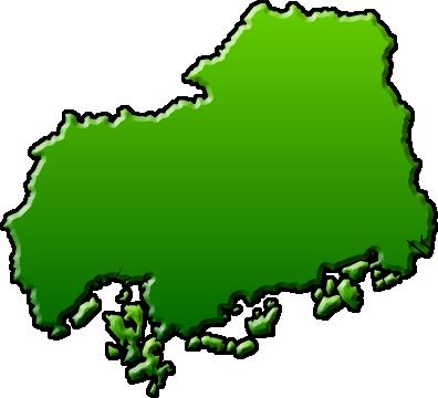 広島県のイラスト|フリー素材 ... : 愛知 日本地図 : 日本