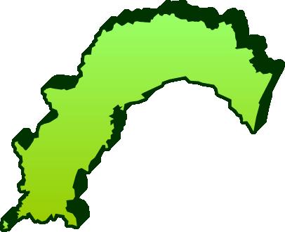 無料 都道府県地図無料 : 高知県のイラスト|フリー素材 ...