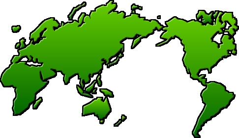 世界地図のイラスト イラストカットcom