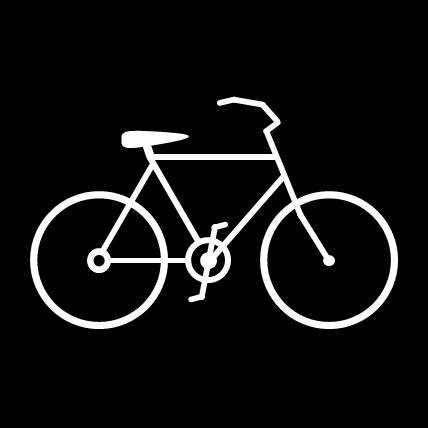 自転車の 自転車 素材 イラスト フリー : マークのイラスト|フリー素材 ...