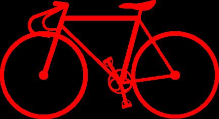 競輪用自転車のイラスト ...