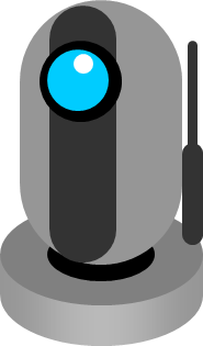 ネットワークカメラ ウェブカメラのイラスト フリー 無料で使えるイラストカット Com