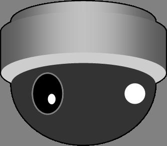 監視カメラ防犯カメラのイラスト ページ 2 イラストカットcom
