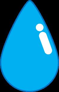 水滴のイラスト イラストカットcom