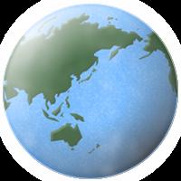 地球のイラスト フリー 無料で使えるイラストカット Com