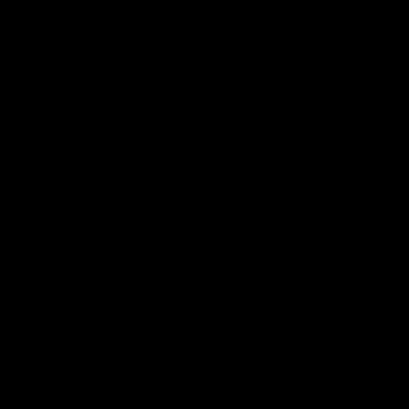 筆文字風の丸型図形筆で描いた円 イラストカットcom