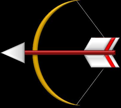 弓矢の矢印のイラスト イラストカットcom